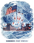 Fort Sumter Flag: Remember Fort Sumter