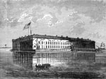 Fort Sumter Pictures: Fort Sumter in 1860