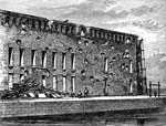 Fort Sumter Pictures: Fort Sumter after the Bombardment