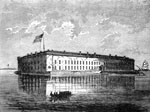 Fort Sumter: Fort Sumter in 1861