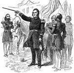 General Winfield Scott: General Scott Proclaiming the Conquest of Mexico
