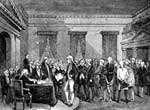 George Washington Images: Washington Resigning his Commission