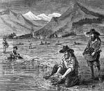 Gold Miners: Placer mining