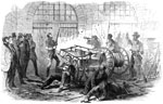 Harper's Ferry Raid: Harper's Ferry insurrection - Interior of the engine house