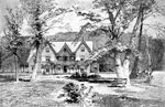 Harriet Beecher Stowe: The old home at Hartford