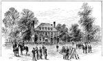 Harrison's Landing: The Westover Mansion, Camp at Harrison's Landing, July 1862