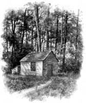 Henry David Thoreau: Hut on Walden Pond