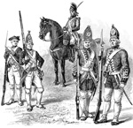 Hessians: British and Hessian Soldiers