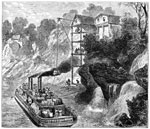History of Cotton: Loading a Cotton Steamer