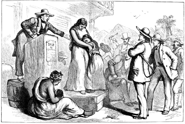 history of american slavery Slavery was deeply woven into the fabric of the united states and challenged the meaning of democracy enslaved people's work formed an economic engine producing half of all us exports and providing much of the financial capital and raw materials to spark industrialization.