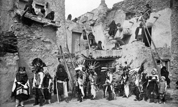 the hopi indians The hopi indians are still around today to recount their rich history and culture there are about 7,000 members of the hopi tribe still living in reservations in the .