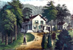Horace Greeley: Chappaqua Farm, Westchester, New York, Residence of Honorable Horace Greeley