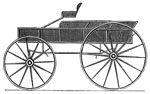 Horse Drawn Carriages: Thorough-Brace, 1825