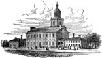 Independence Hall: Independence Hall, Philadelphia, 1776