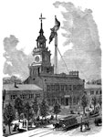 Independence Hall: Independence Hall in 1877