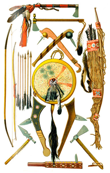 Cherokee Indian Weapon Pictures http://ushistoryimages.com/indian-weapons.shtm