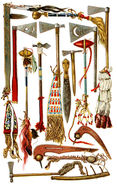 Indian Weapons: War and Ceremonial Tomahawks, Clubs, Slung Shots, and ...