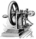 Invention of the Sewing Machine: The First Howe Sewing Machine