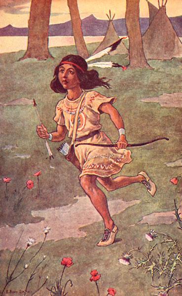 Iroquois Hiawatha: Swift of Foot Was Hiawatha