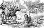 Iroquois Indians: First Battle with the Iroquois