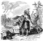 Iroquois: Hiawatha and His Daughter