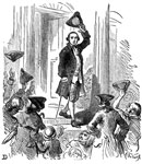 James Otis: Otis Leaving the Town Hall
