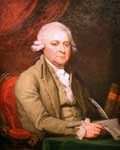 John Adams: Portrait by Mather Brown