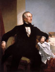 John Tyler: Official White House Portrait of John Tyler by George P. A. Healy