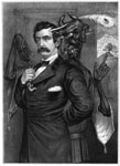 John Wilkes Booth: Satan tempting Booth to the murder of the president