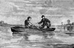 John Wilkes Booth: Booth and Harold Crossing the Potomac