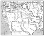 Lewis and Clark Map: The Routes of the Lewis and Clark Expedition