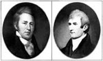 Lewis and Clark: Portraits of Lewis and Clark