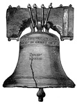 Liberty Bell: Old Bell of Independence Hall
