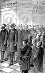 The Life of Frederick Douglass: Marshal at the inauguration of President Garfield