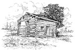 Lincoln Birthplace: Log cabin birthplace of Abraham Lincoln