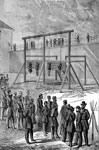 Lincoln Conspiracy:  			  Execution of the assassins