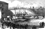Lincoln Conspiracy: Execution of the conspirators at Washington, July 7, 1865