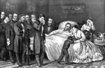 Lincoln Death: Death of President Lincoln - the Nation's martyr