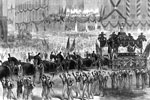 Lincoln Funeral:  President Lincoln's funeral procession in New York City
