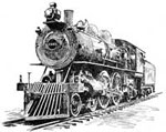 Locomotive Pictures: Locomotive Designed for Passenger Service, 1902