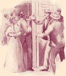 Lucretia Mott: Lucretia Mott protecting Dangerfield from the mob in Philadelphia