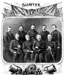 Major Robert Anderson: Major Robert Anderson and his Officers