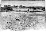 Manassas Battlefield: The Main Battleground No. 2 - View of the Robinson House