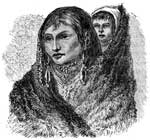 Mandan: Squaw and Child