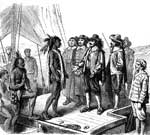 Maryland Colony: Governor Calvert and the Indian Chief