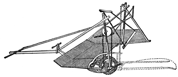 Mechanical Reaper: McCormick Reaper, 1834