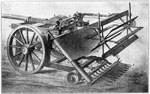 Mechanical Reaper: Bell's Reaper, 1826