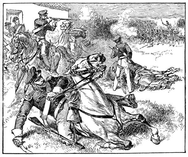 Mexican American War: Defeat of American Dragoons at the Battle of Resaca de la Palma