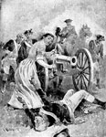 Molly Pitcher: Molly Pitcher at Monmouth