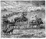 Mormon Pioneers: Traveling By Ox Carts